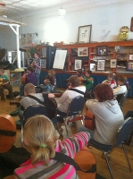 Back to Guitar Class at Wise JAMS in Coeburn