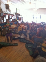 Great to see so many children learning mountain music!