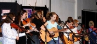 Girls & Boys Playing Music