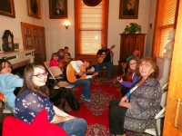 Big Stone Gap - Students in the Beginner Guitar 1 Class with instructor Steve Souther