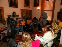 Big Stone Gap - Students in the Beginner Guitar 2 Class with instructor Larry Mullins