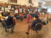 Guitar Class at Lays Hardware - Coeburn